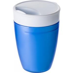2in1 pohár, műanyag